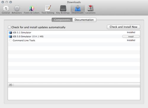 Running older versions of iOS Simulator